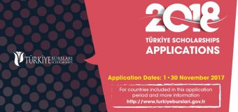 Türkiye International Scholarships to Study in Turkey 2018 (Bachelor's, Master's and Doctoral)
