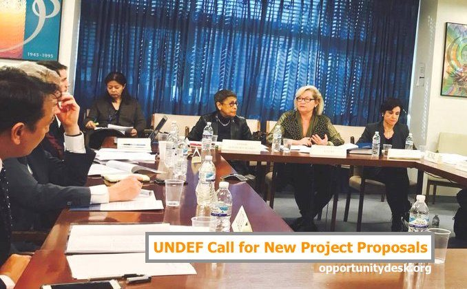 United Nations Democracy Fund Call For New Project Proposals 2017