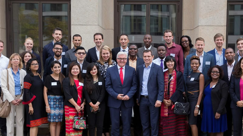 Westerwelle Young Founders Programme 2018 in Berlin, Germany