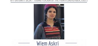 Wiem Askri from Tunisia is OD Young Person of the Month for November 2017!