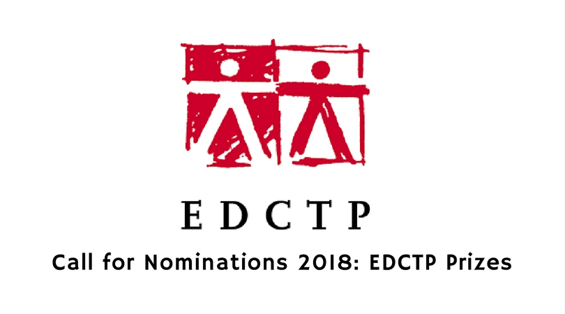 2018 EDCTP Prizes for Scientists and Research Teams in Africa and Europe (€130,000 in Prizes)
