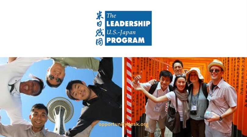 2018 US-Japan Leadership Program (Fully-funded to Conferences in Seattle and Japan)