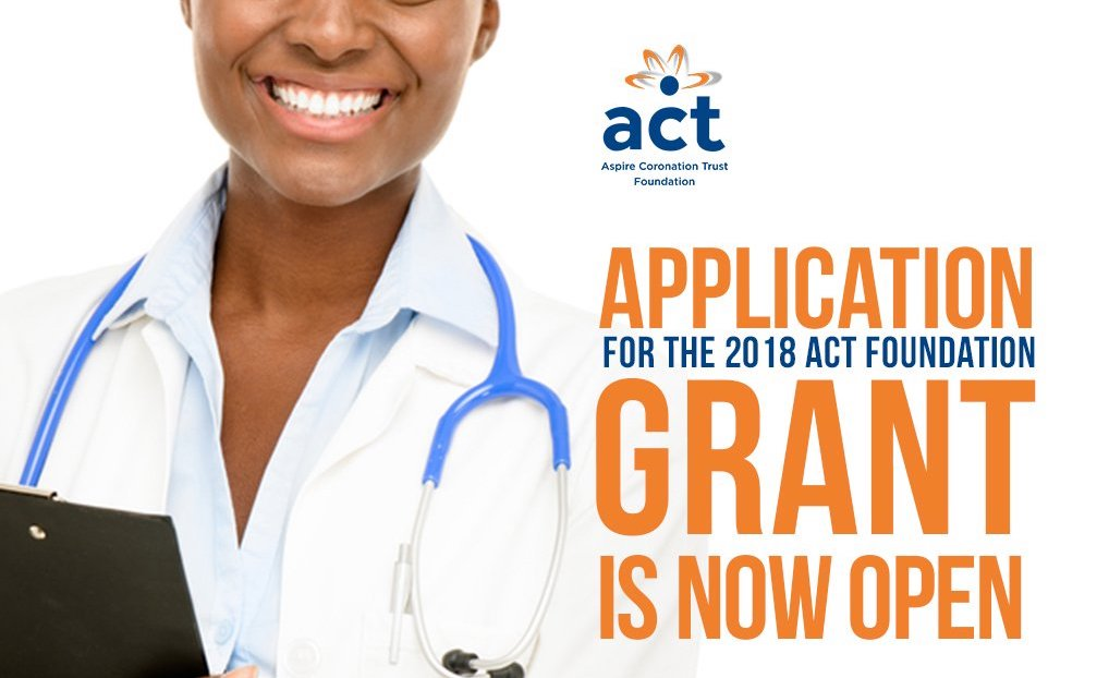 ACT Foundation Grant Programme for Nonprofits in Africa 2018