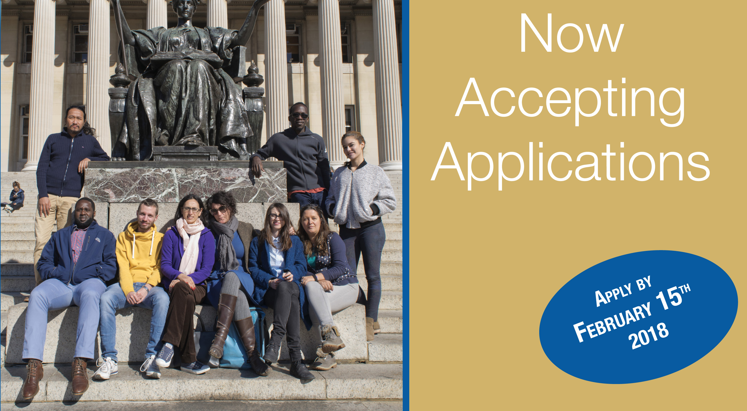 AHDA Fellowship for Human Rights Activists 2018 – Columbia University in New York City