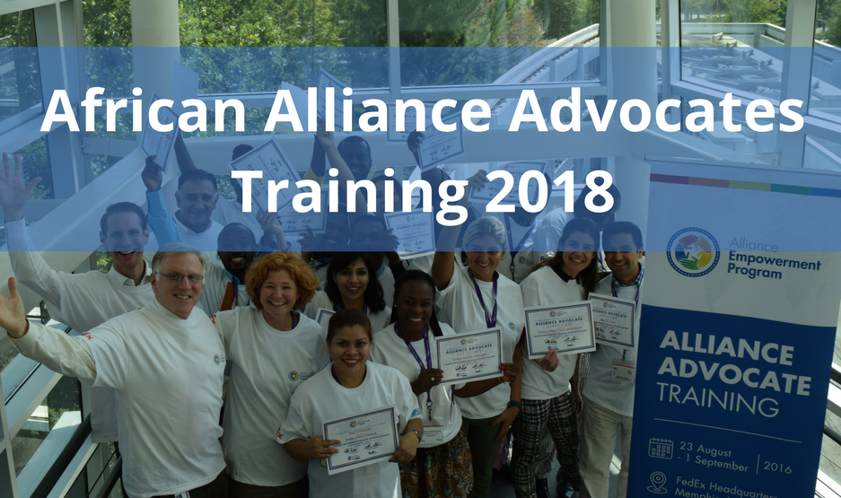 African Alliance Advocate Regional Training 2018 in Nairobi, Kenya (Fully-funded)