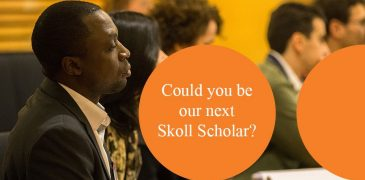 Apply for Skoll Scholarship to study at University of Oxford's Saïd Business School 2018