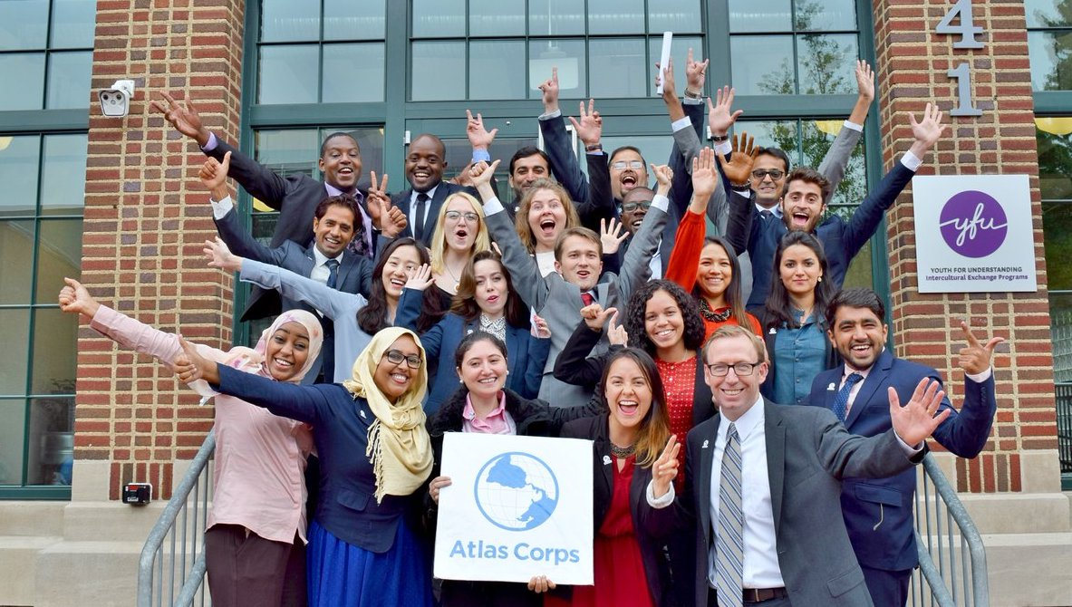 Atlas Corps Fellowship 2020 for Emerging Global Leaders (Fully funded to the United States)