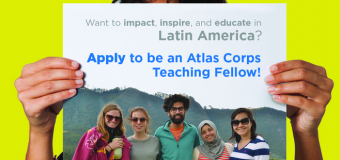 Atlas Corps English Teaching Fellowship In Latin America 2018