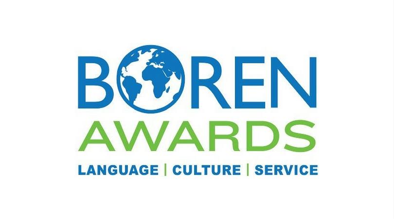2018 Boren Scholarship Awards for U.S. Undergraduate Students