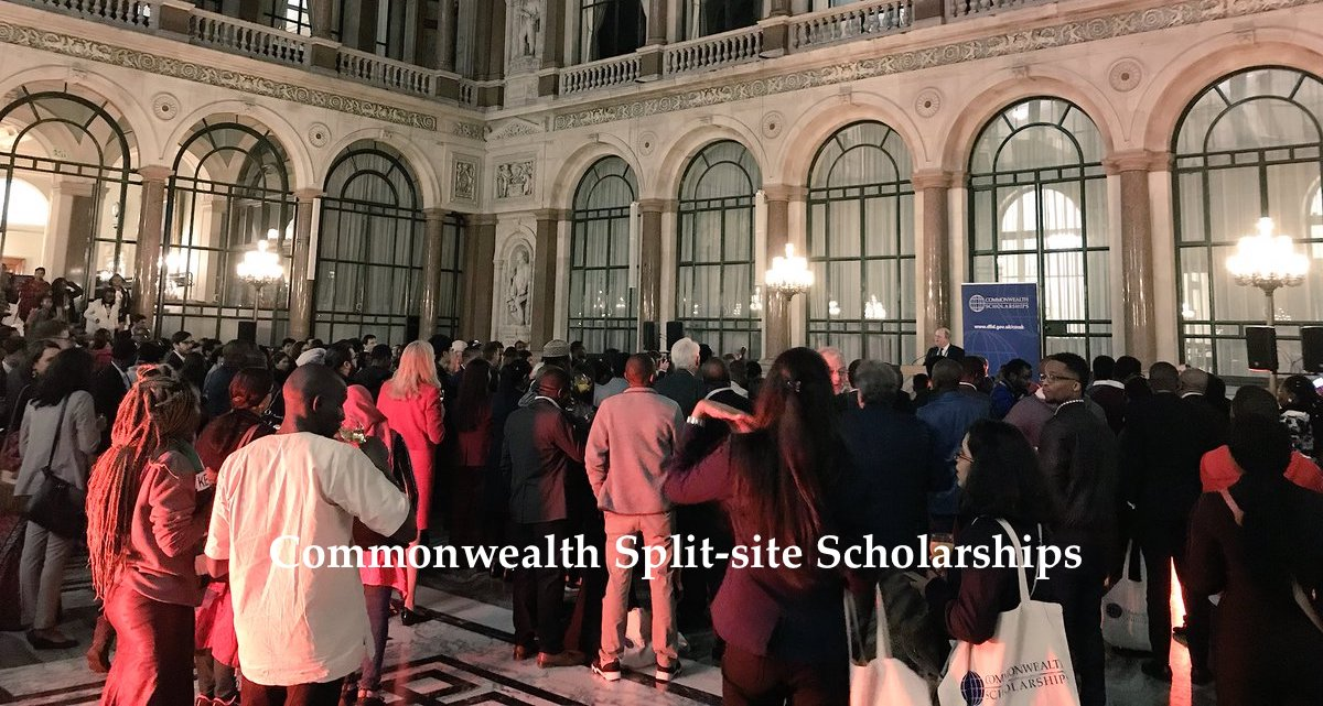 Commonwealth Split-site Scholarships for PhD Candidates from low/middle income Countries 2018/2019