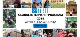 GoUNESCO Internship Program 2018