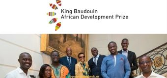 King Baudouin Foundation African Development Prize 2018/2019 (€200,000 Award)