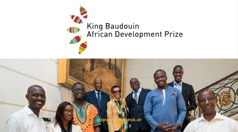 King Baudouin Foundation African Development Prize 2018/2019 (€200,000 Award)