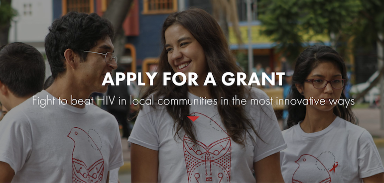 MTV Staying Alive Foundation Grant for Youth-led Organizations 2018