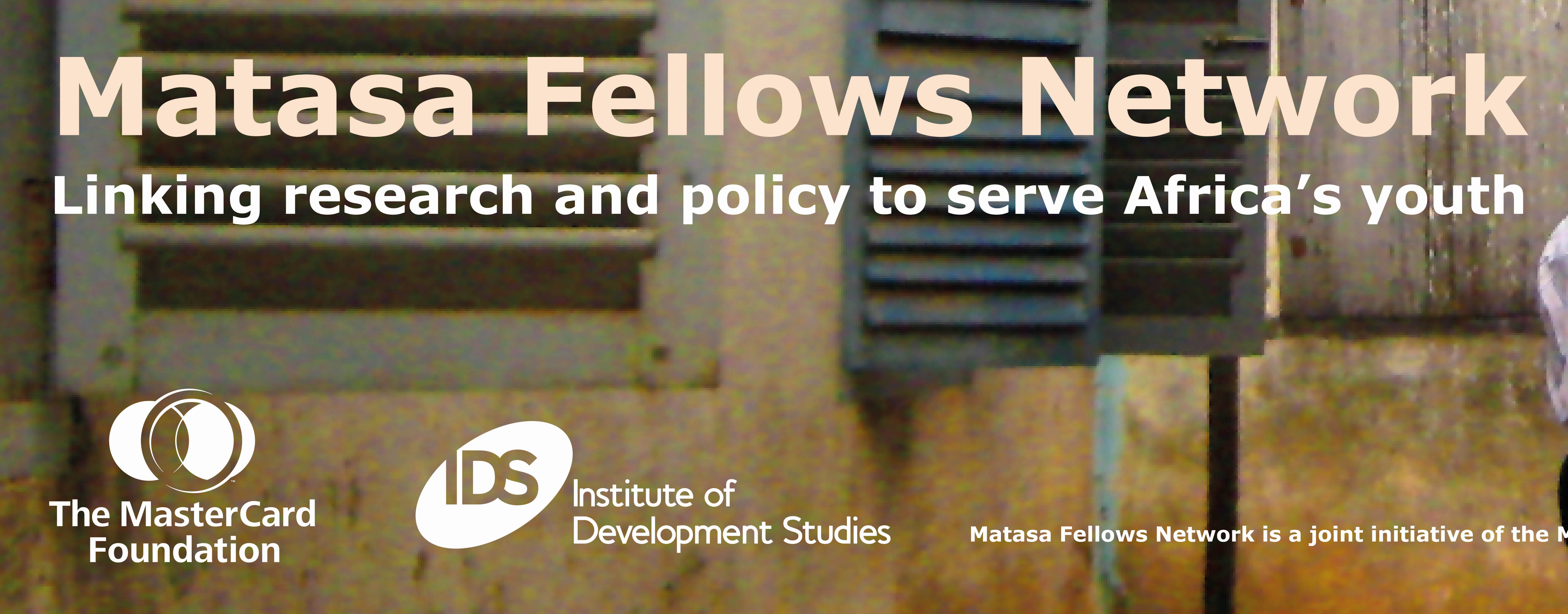 Apply: Matasa Fellows Network for Young African Researchers 2017 (Fully funded to the UK + £3,000)