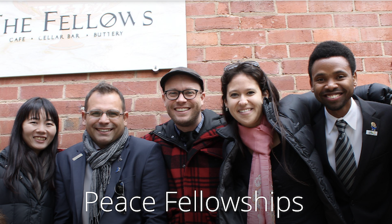 Rotary Peace Fellowships for Masters & Professional Development Programs 2019/2020