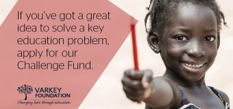 Varkey Foundation Challenge Fund for Organizations 2018 (Up to $50,000 Grant)