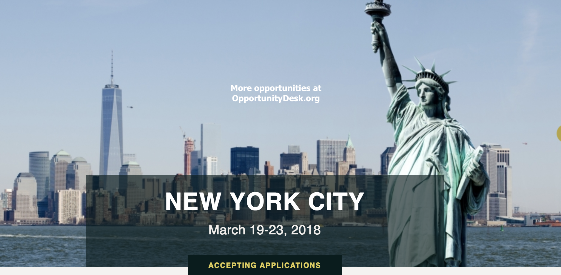 Call for Mentees: Vital Voices/Bank of America Global Ambassadors Program 2018 in New York City (Fully-funded)