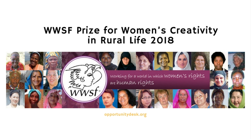 WWSF Women's World Summit Foundation Prize for Women's Creativity in Rural Life 2018