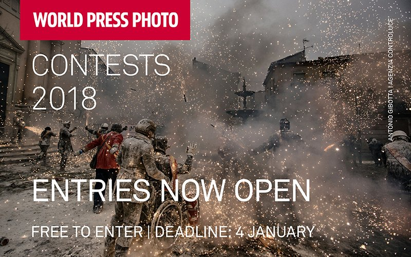 World Press Photo Digital Storytelling Contest 2018 (Win a trip to Amsterdam)