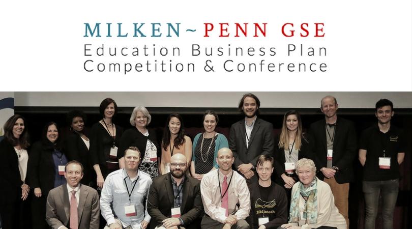 2018 Milken-Penn GSE Education Business Plan Competition: Venture Path