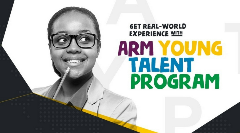 ARM Young Talent Programme 2018: Summer Internship Opportunity for Nigerian Students