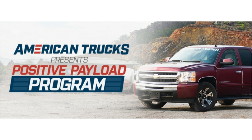 Nominate a Charity: AmericanTrucks' Positive Payload Program 2018 (Up to $2,000 grant)