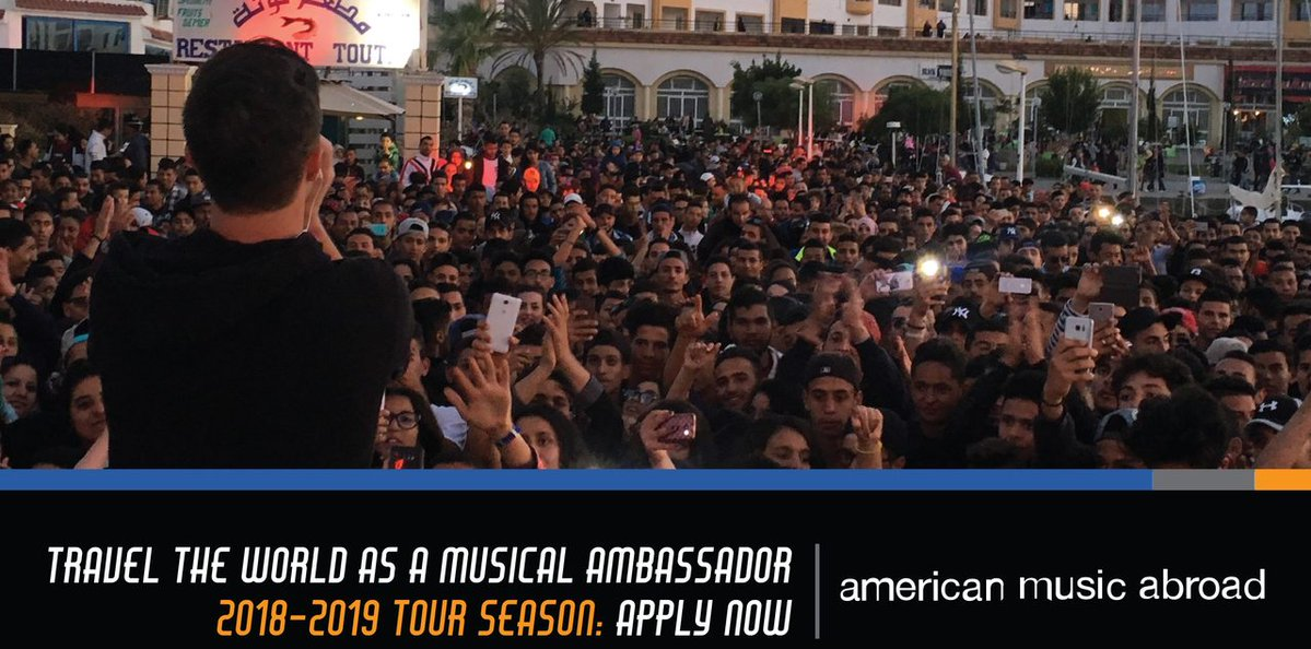 American Music Abroad Exchange Program 2018