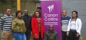Canon Collins Scholarship for Masters Study in the UK 2018-19 (Open to Southern Africans)