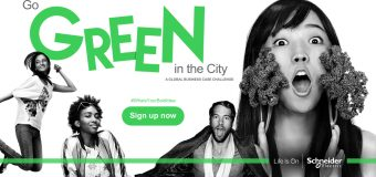 Go Green in the City 2018 (Win a trip around the world and a job with Schneider Electric)