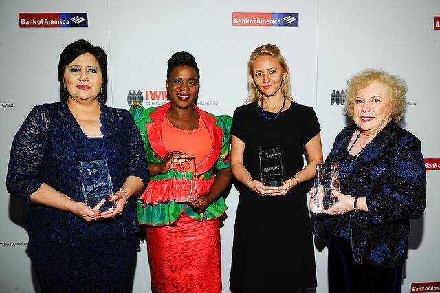 IWMF Lifetime Achievement Award for Women Journalists 2018