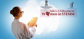 Indo-U.S Internship & Fellowship for Women in STEMM 2018