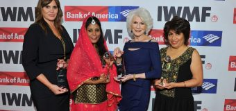 International Women's Media Foundation's Courage in Journalism Award 2018