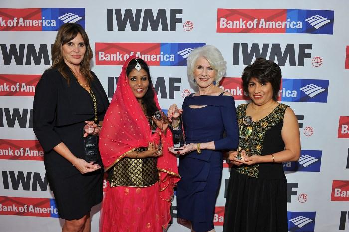 International Women's Media Foundation's Courage in Journalism Award 2018