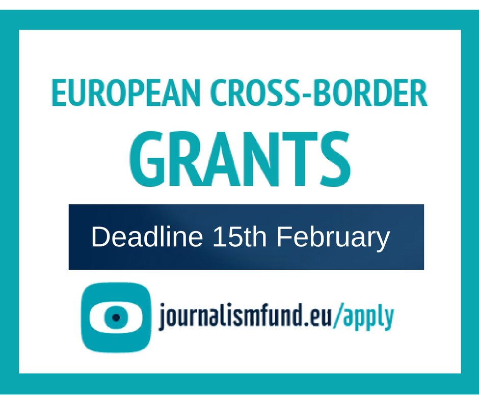 JournalismFund European Cross-border Research Grant 2018