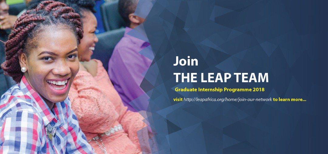 LEAP Africa Graduate Internship Programme 2018