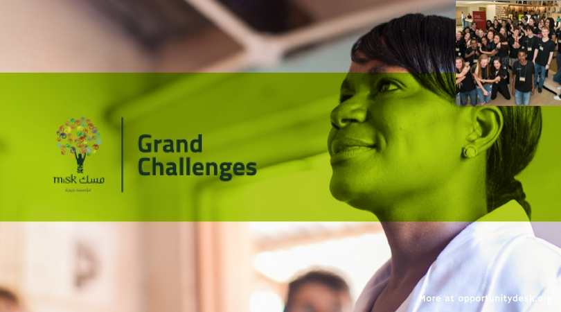 Misk Grand Challenges 2018 – Up to $100,000 Grant for Young Innovators Worldwide