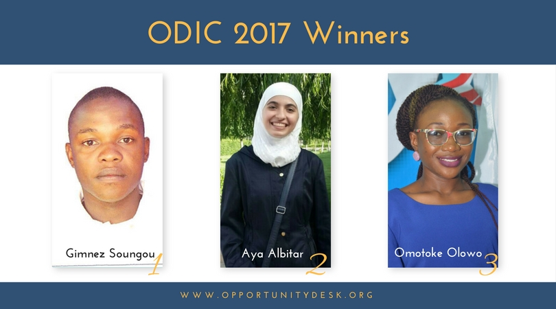 Meet the OD Impact Challenge 2017 Winners
