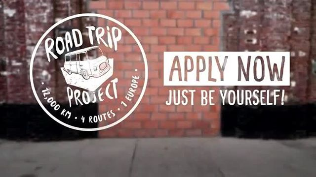 Road Trip Project Competition 2018 – Win a fully-funded trip across Europe!