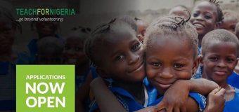 Teach For Nigeria Fellowship Program 2018 (Fully-funded)