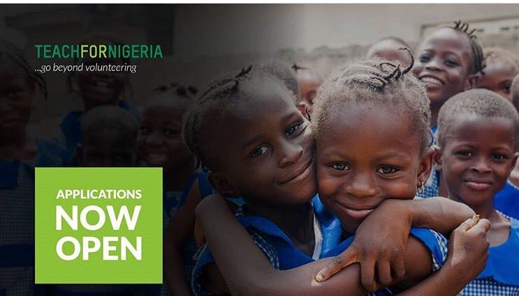 Teach For Nigeria Fellowship Program 2018 (Fully-funded)
