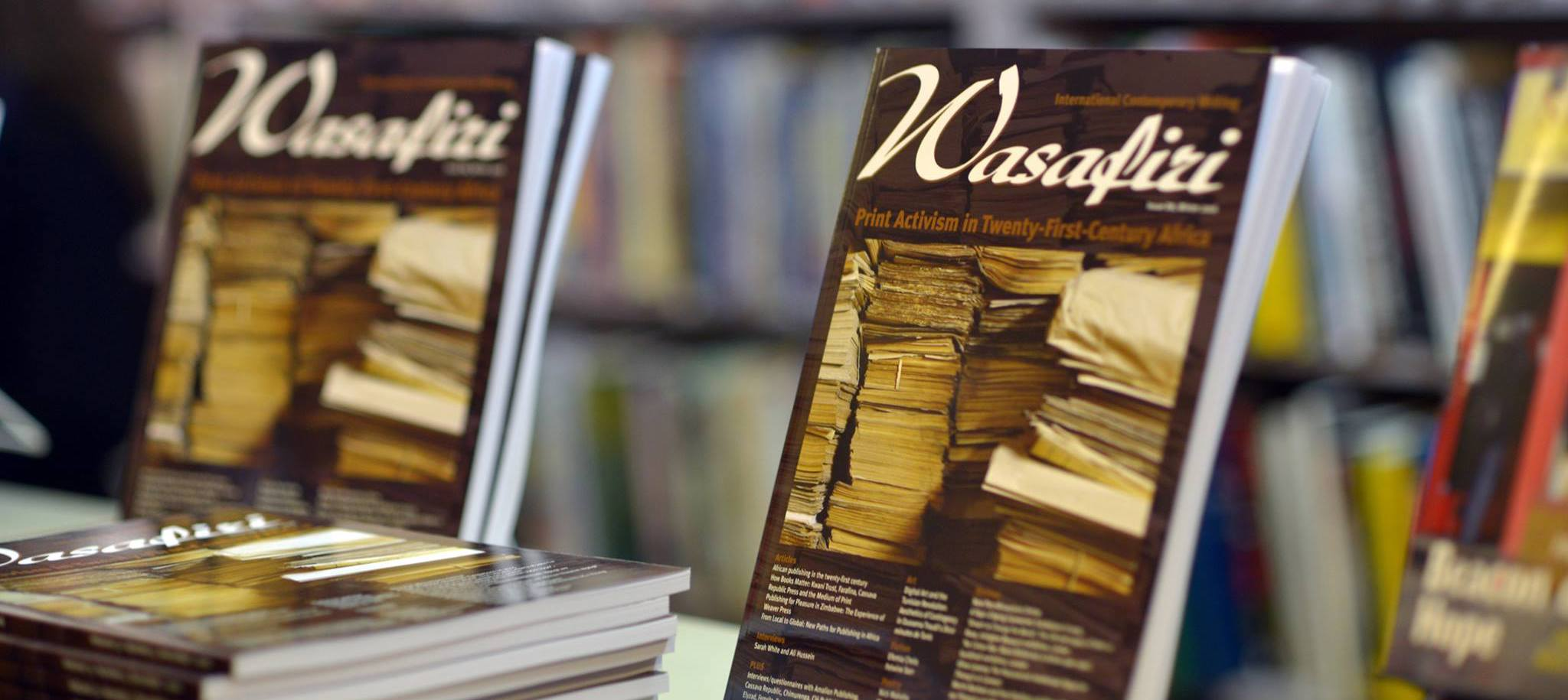 Wasafiri New Writing Prize 2018