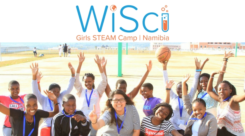 WiSci Girls STEAM Camp 2018 (Fully-funded to Namibia)