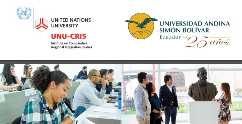 7th Doctoral School on Latin American, European and Comparative Regionalism in Quito, Ecuador