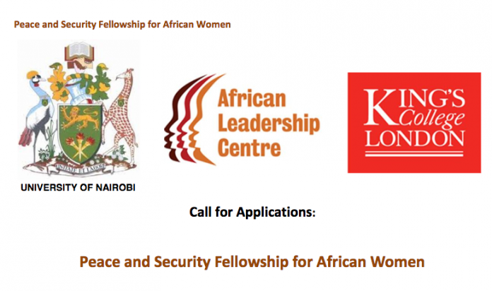 ALC Peace and Security Fellowship for African Women 2018-2019 (Fully-funded)