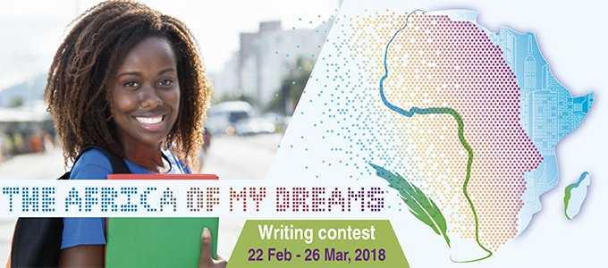 AfDB's Africa of my Dreams Writing Contest 2018 (Win a trip to Korea and more)