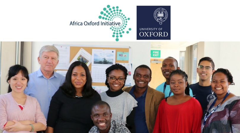 AfOx Visiting Fellows Program 2018 (Fully funded to Oxford for African Researchers)