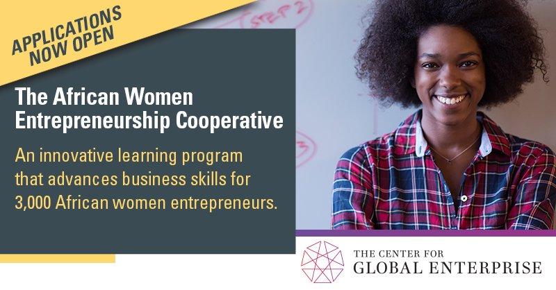 African Women Entrepreneurship Cooperative (AWEC) Program 2018
