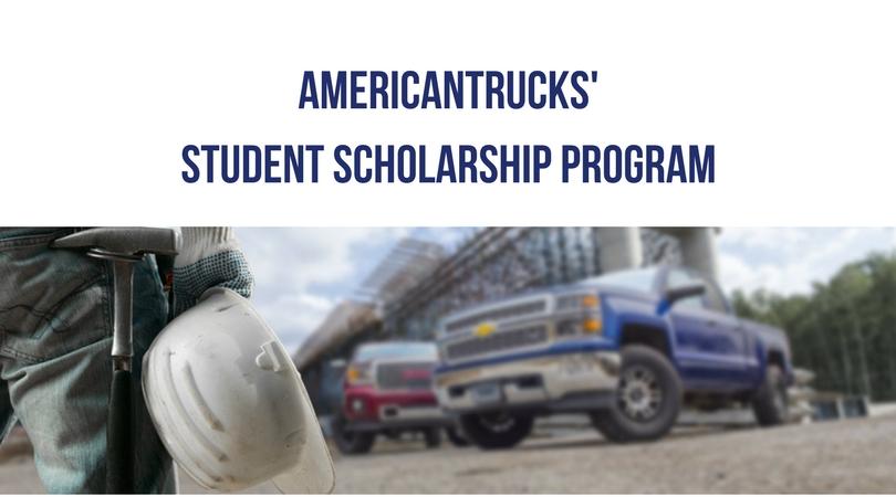 AmericanTrucks Student Scholarship Program 2018