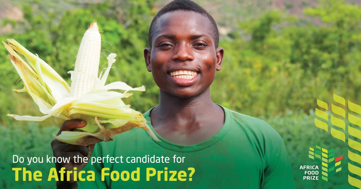 Call for Nominations: Africa Food Prize 2018 (US $100,000 prize)
